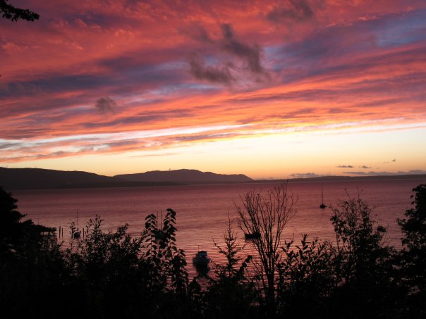 Bellingham Bay at sunset. Photo: Sara Beth Hawn